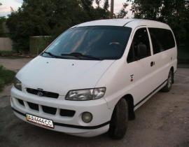 www.AirGART.com Пневмоподвеска на Hyundai H200.