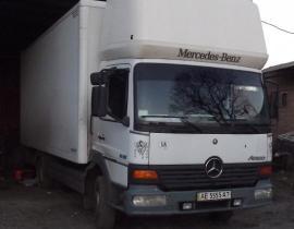 www.AirGART.com Пневмоподвеска на Mercedes Atego 815.