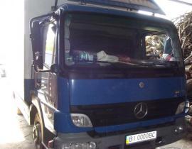 www.AirGART.com Пневмоподвеска на Mercedes Atego 816.
