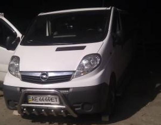 Пневмоподвеска на Opel Vivaro.