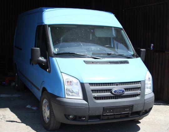 Пневмоподвеска на Ford Transit