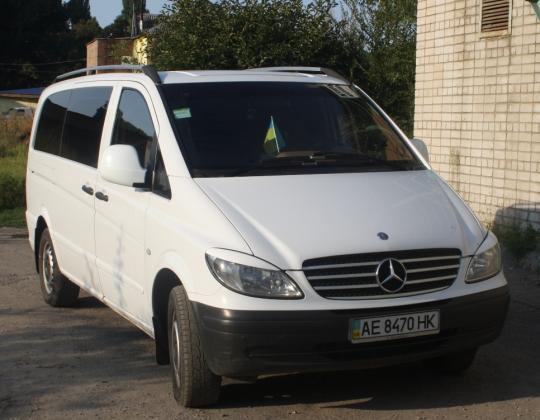 Пневмоподвеска на Mercedes Vito 639