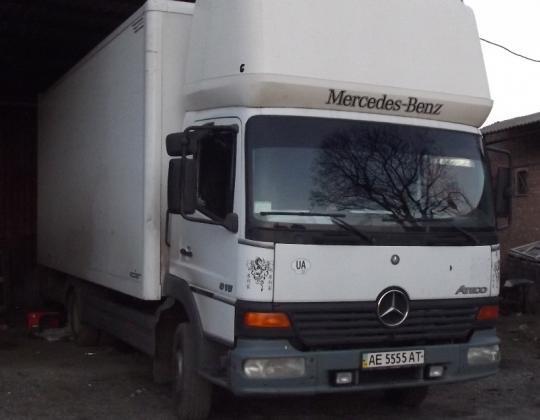 Пневмоподвеска на Mercedes Atego 815.