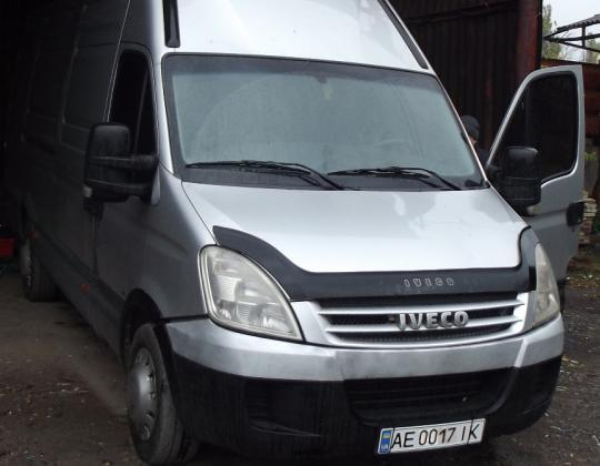 Пневмоподвеска на Iveco 35S14.