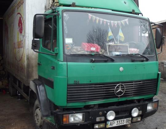 Пневмоподвеска на Mercedes Benz 814.