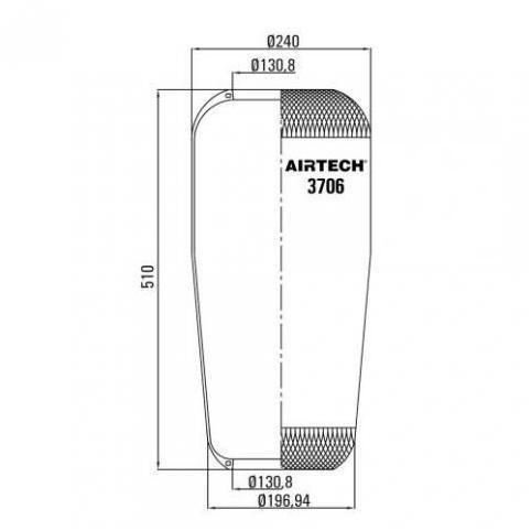 www.AirGART.com Пневморессора Contitech 706N