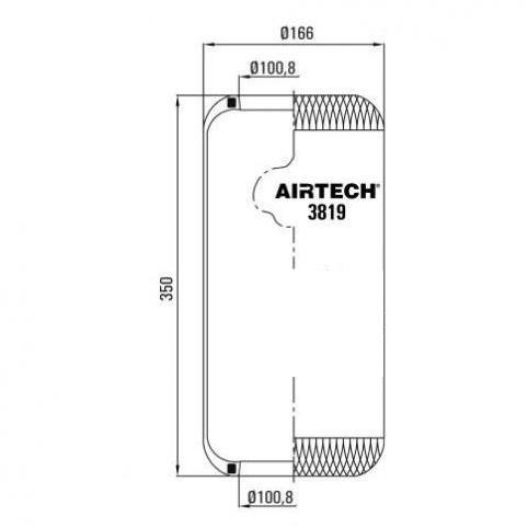 www.AirGART.com Пневморессора Contitech 819N