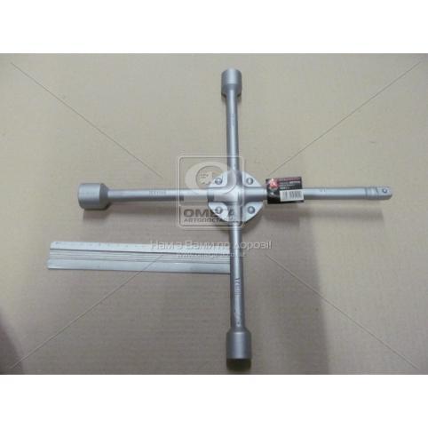 www.AirGART.com Ключ крест усиленный, с центр. пластиной, 17X19X21X1/2 мм.