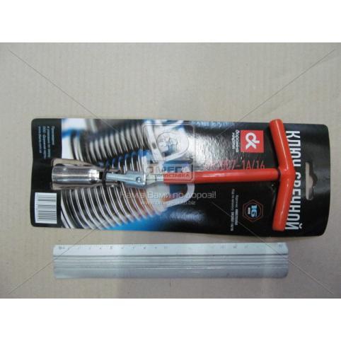 www.AirGART.com Ключ свечной, T-ручка, 16 мм.
