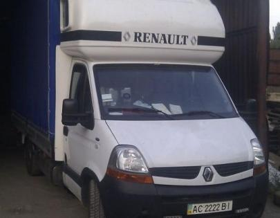 Пневмоподвеска на Renault Master бортовой 2007 года .