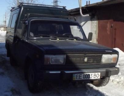 Пневмоподвеска на ВАЗ 2107.