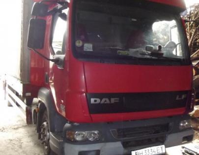 Пневмоподвеска на DAF LF 45.