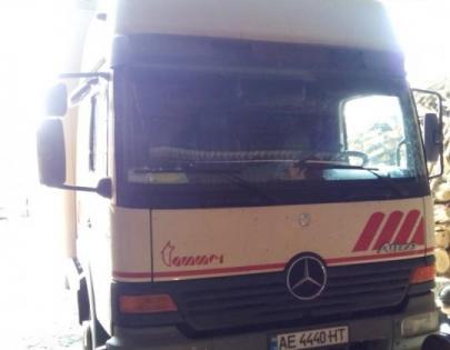 Пневмоподвеска на Mercedes Atego.