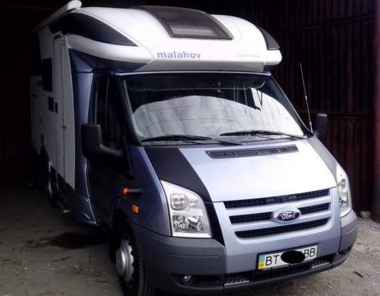 Пневмоподвеска на Ford Transit кемпер Westfalia (спарка)