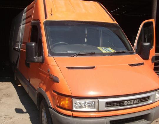 Пневмоподвеска на Iveco 35S12