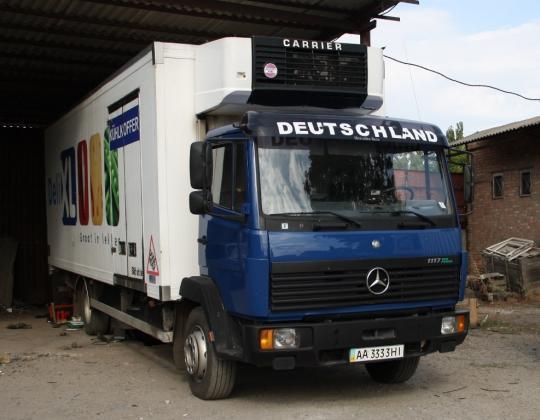 Пневмоподвеска на Mercedes Eco Power