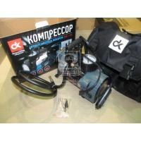 www.AirGART.com Компрессор, 12V, 10Атм, 35л/мин, фонарь LED,спускной клапан,прикуриватель